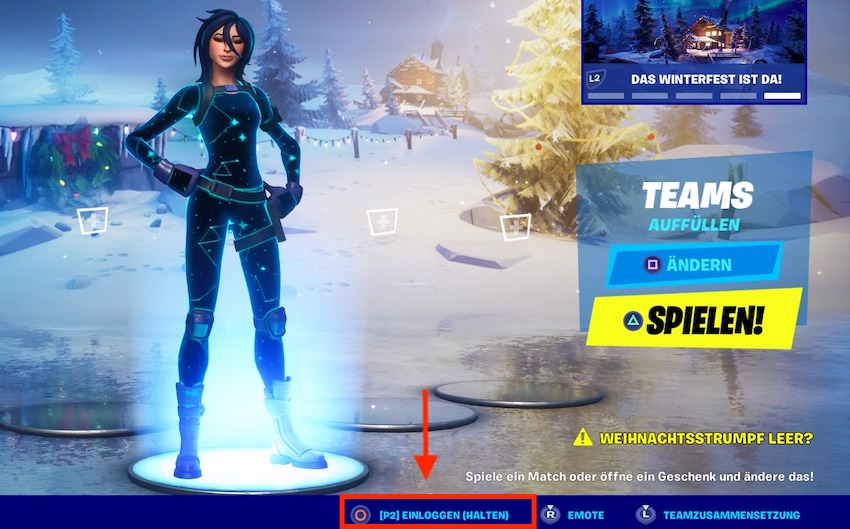 Fortnite-splitscreen-spieler-in-lobby