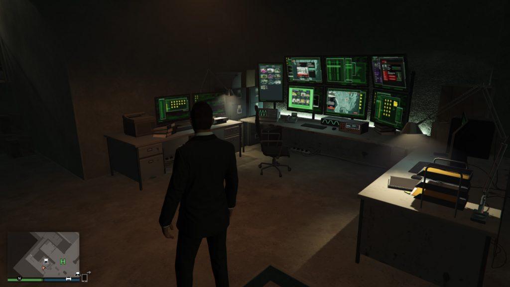 GTA Online Casino Heist Spielhalle Kontrollterminal