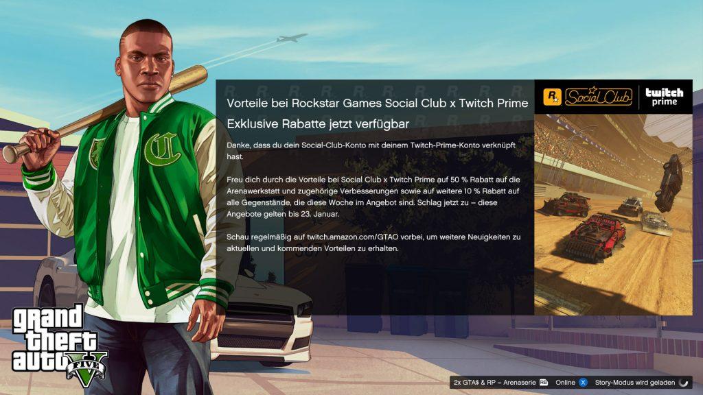 GTA Online Ladebildschirm
