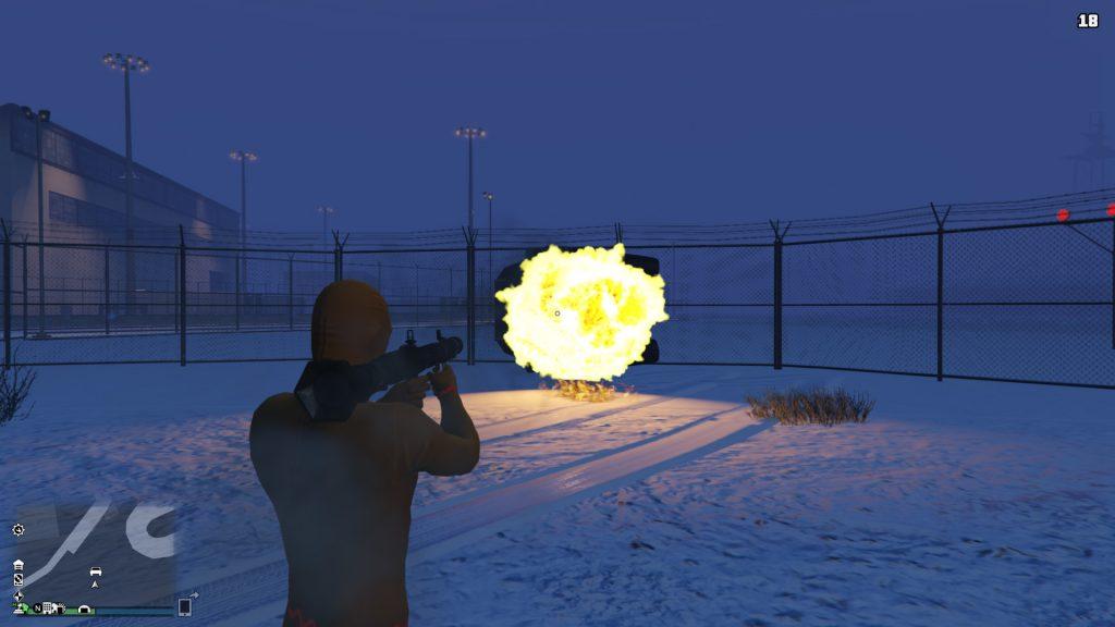 GTA Online Zhaba Rakete