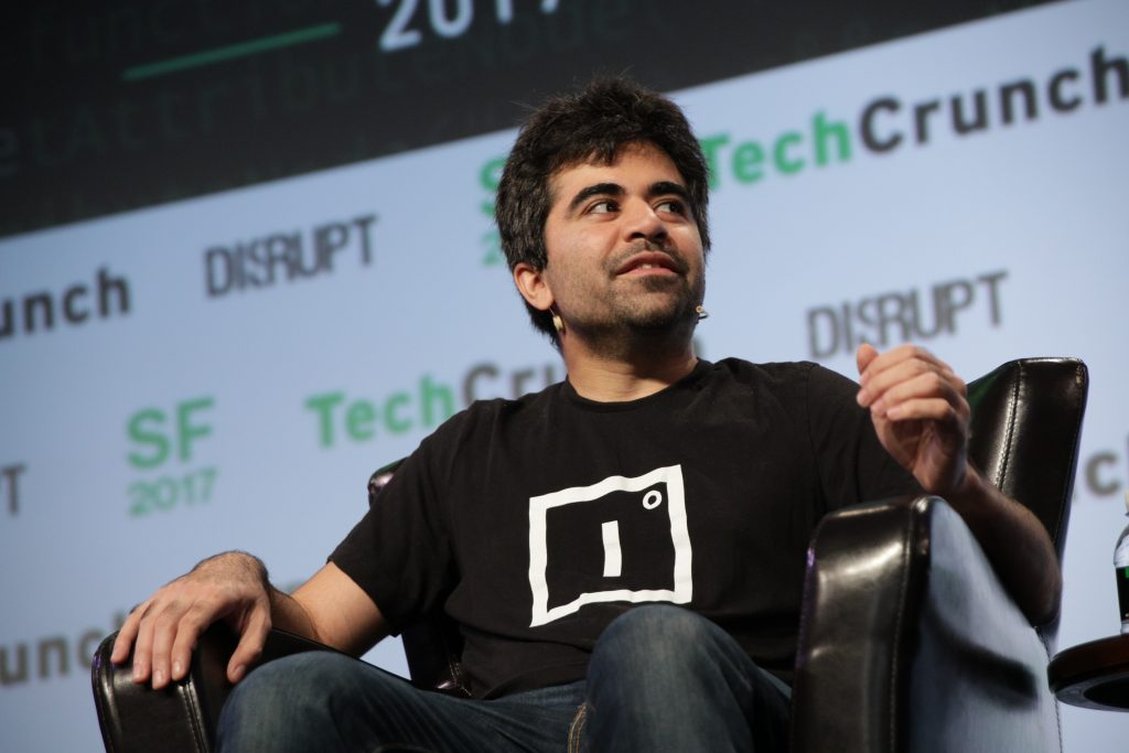 Herman Narula bei Techcrunch Disrupt