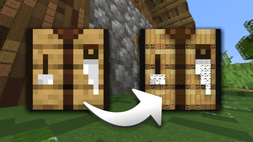 Minecraft Blocks in Blocks Arrows