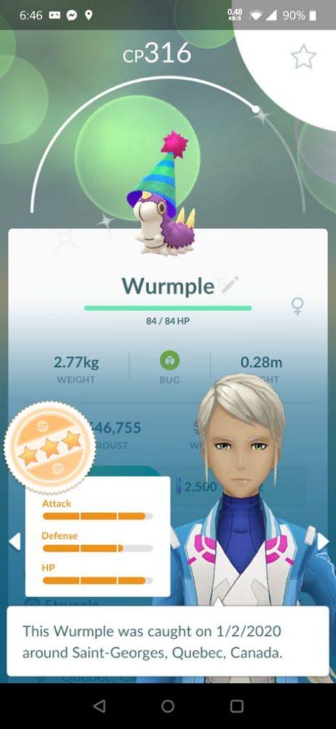 Shiny Waumpel