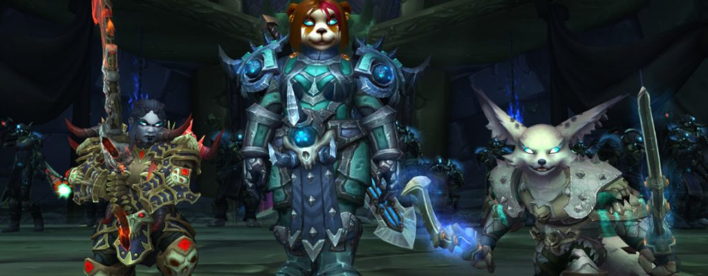 WoW Allied Races Death Knights title 1140x445