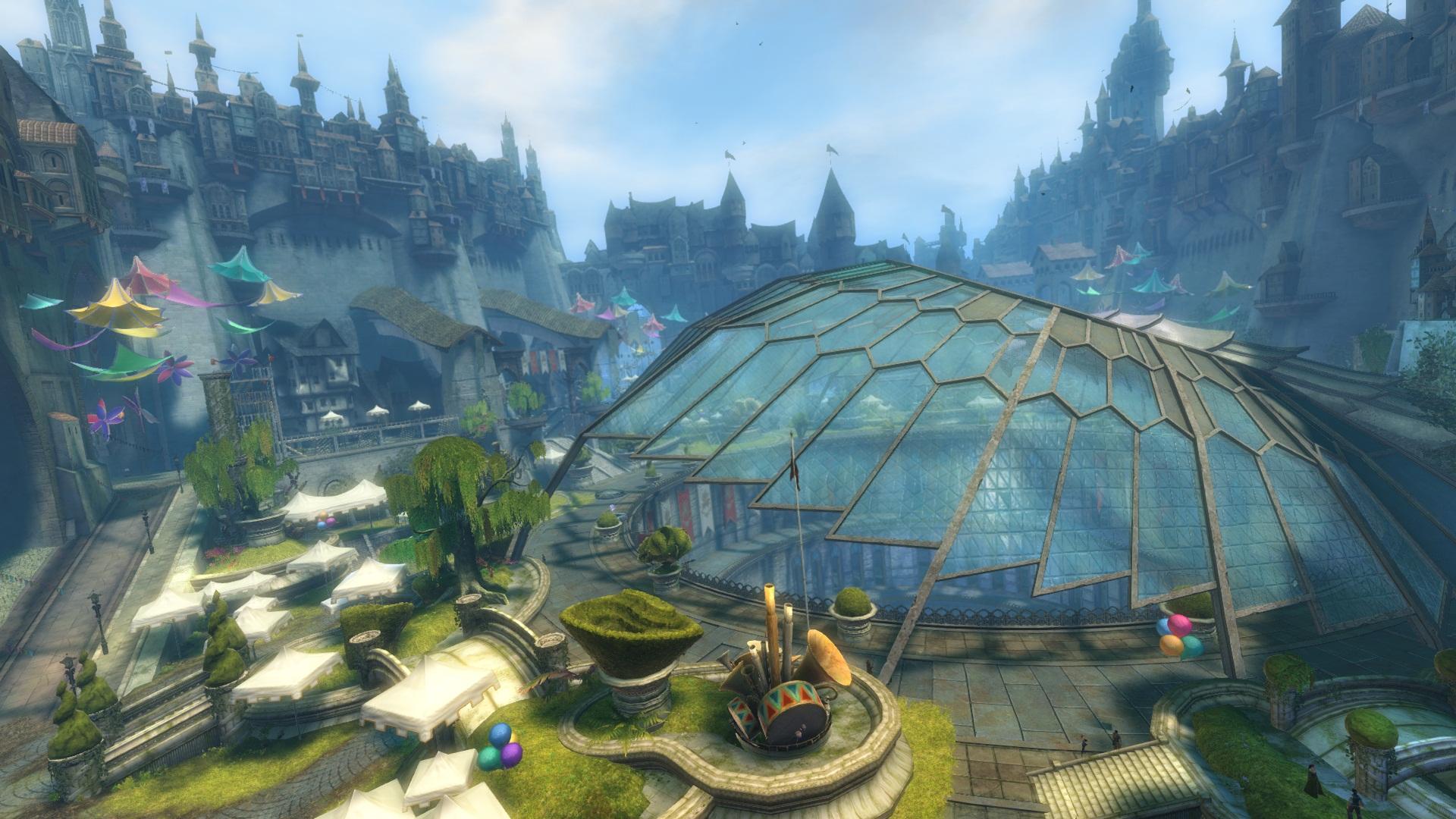 Guild Wars 2 möchte Vorschläge für Gildenhallen hören, denkt über Gildenkriege nach