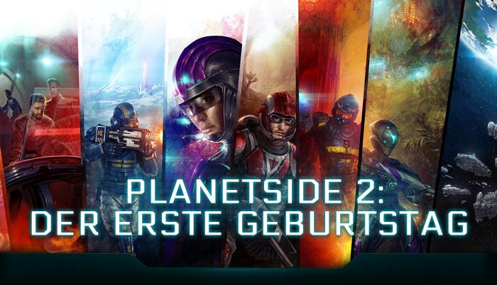 Planetside 2: Herzlichen Glückwunsch zum 1. Geburtstag!