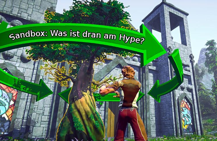 Liegt die Zukunft der MMORPGs in der Sandbox?