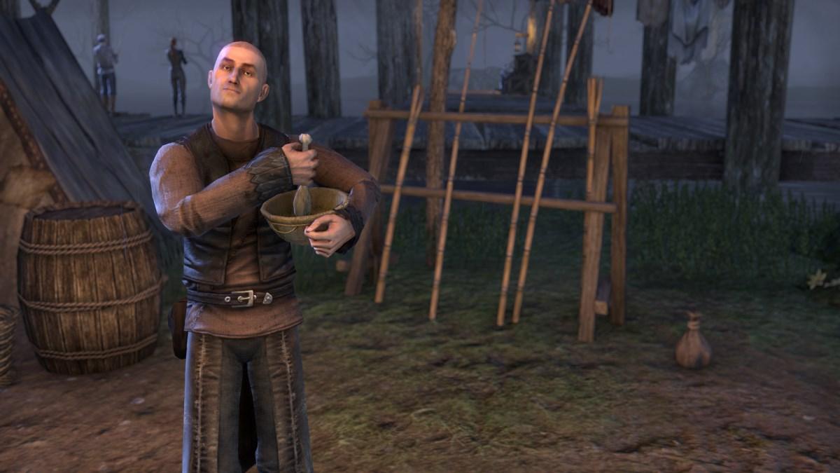 The Elder Scrolls Online: Kochen bleibt legal, Versorger-System wird mit Update 6 geändert
