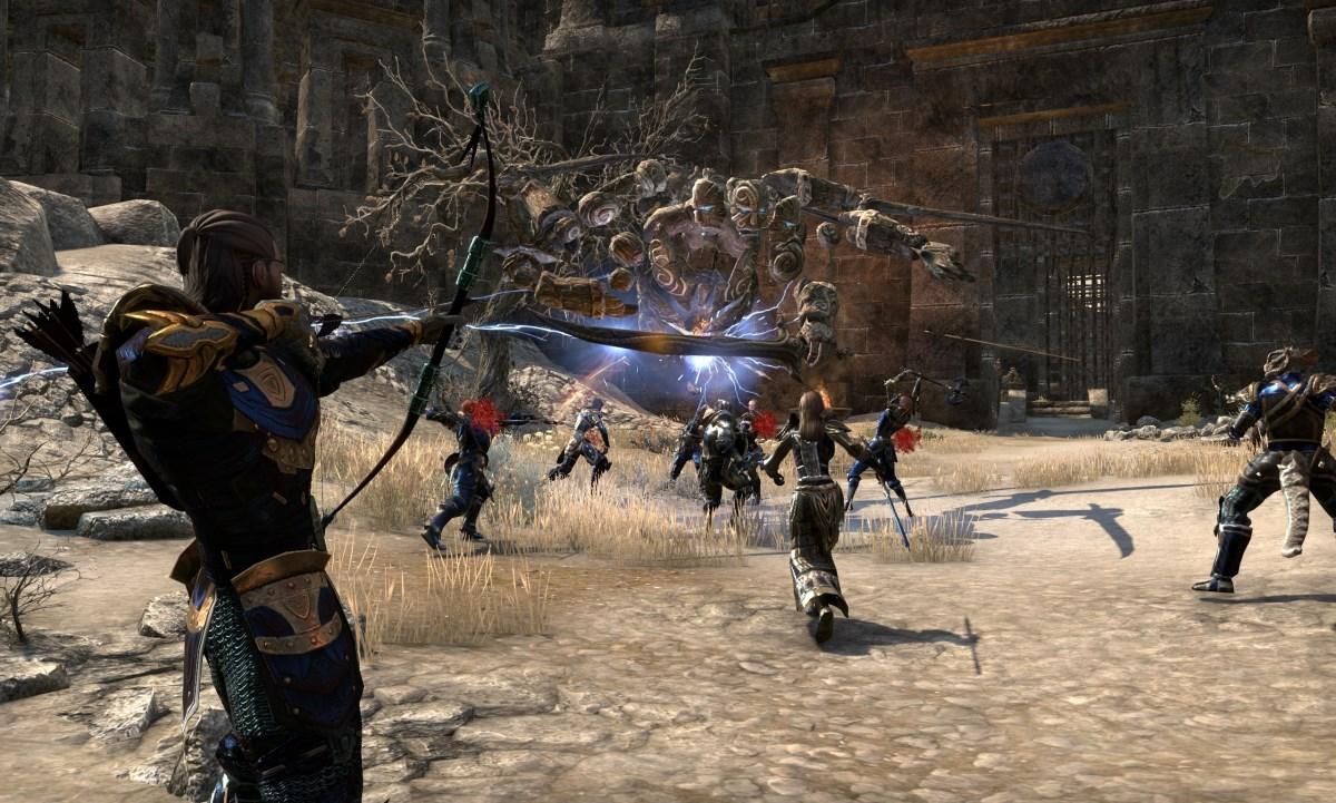 The Elder Scrolls Online: Hotfix, Bannwelle und VR 12 Sprint