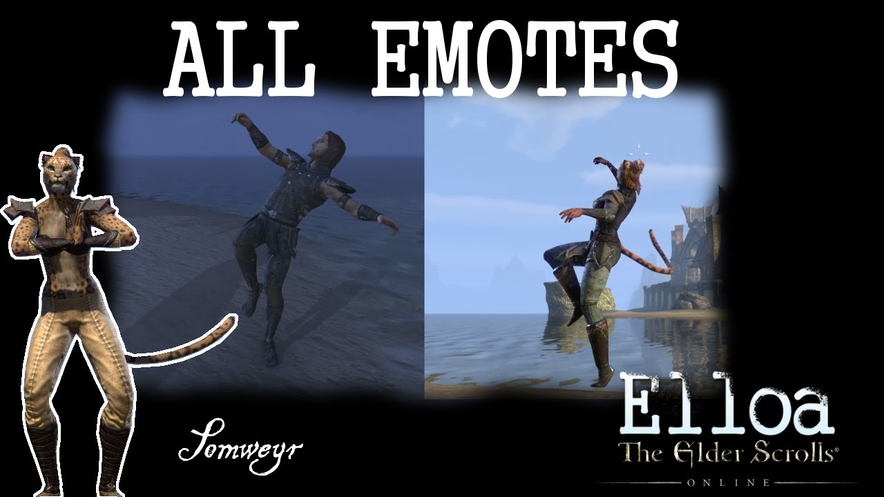 The Elder Scrolls Online Emotes