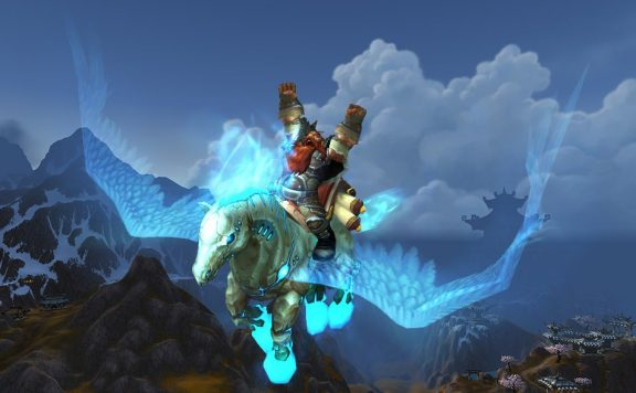 Pegasus Flugmount in WoW