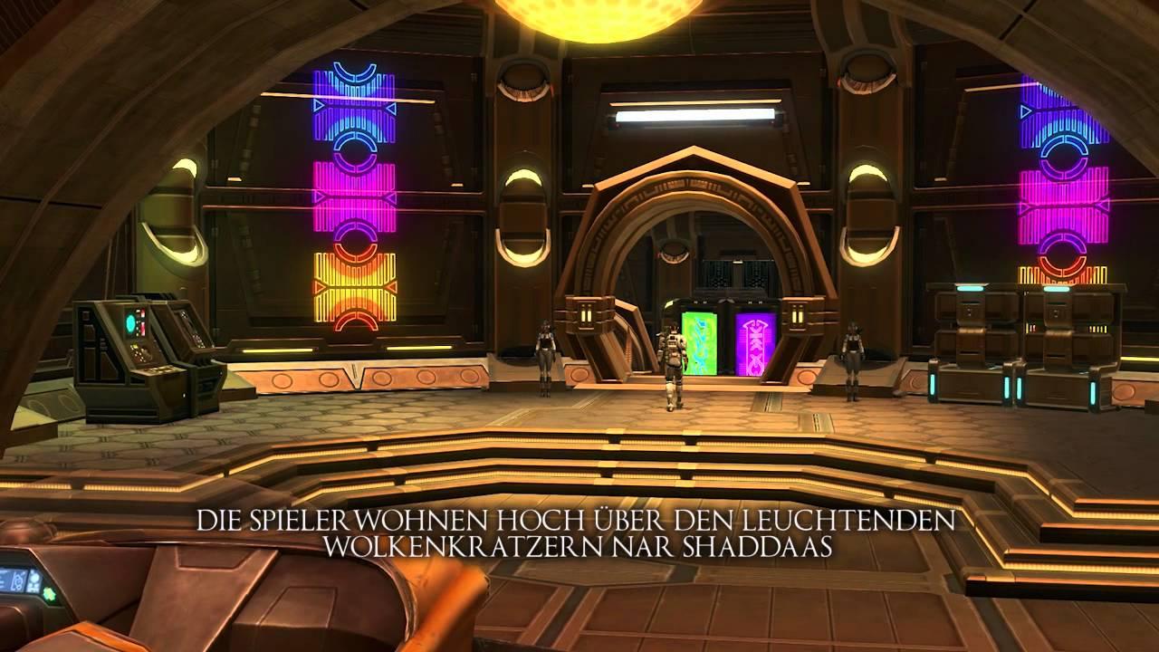 Star Wars: The Old Republic – Kostenloses Mini-Haustier und Apartment