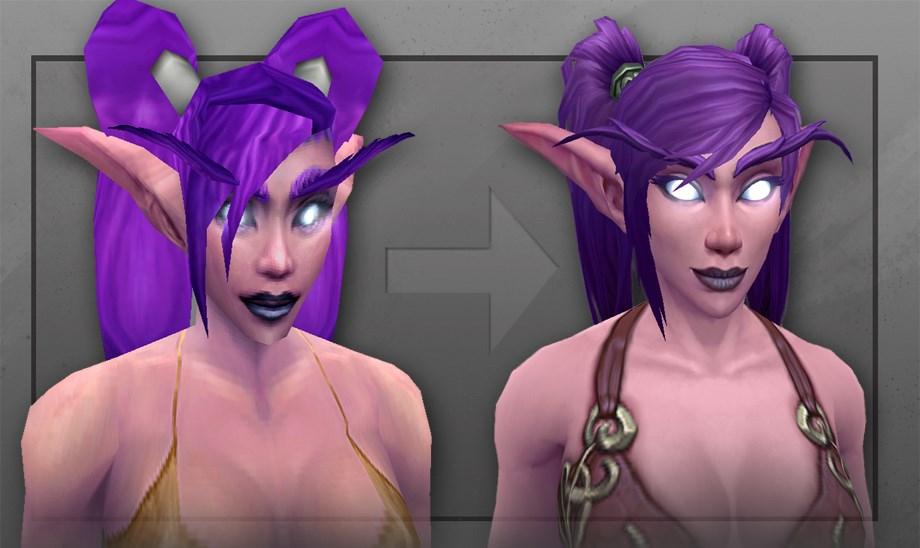 World of Warcraft: Nachtelfen – noch eine Prise mehr Sexappeal