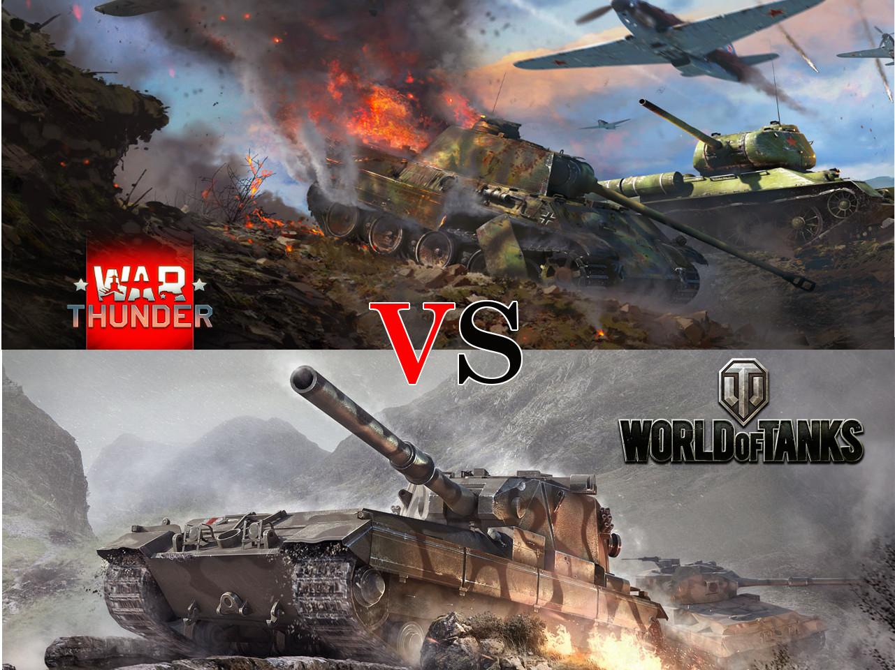 War Thunder oder World of Tanks: Wer ist härter?