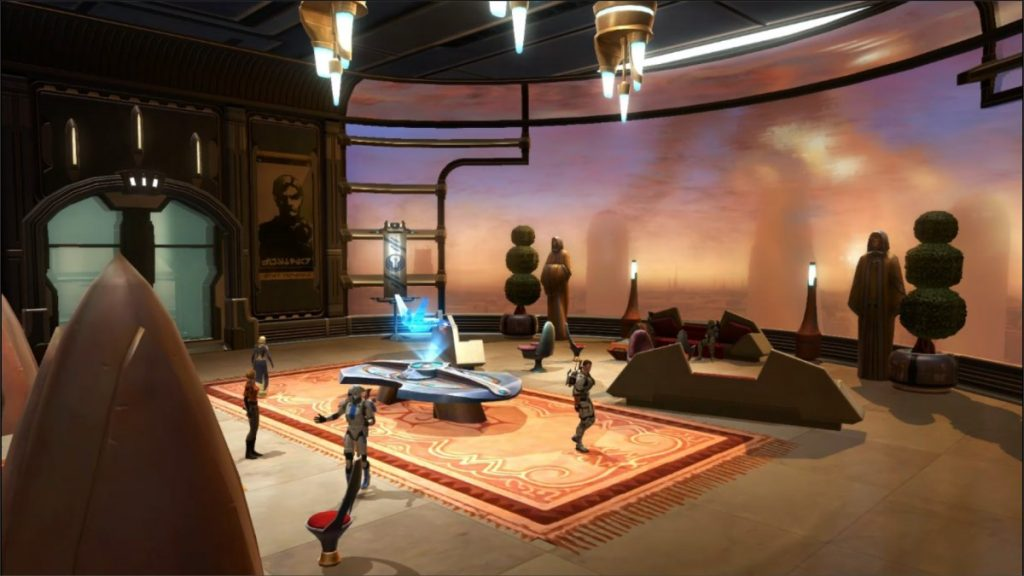 Star Wars: The Old Republic - Housing auf Coruscant