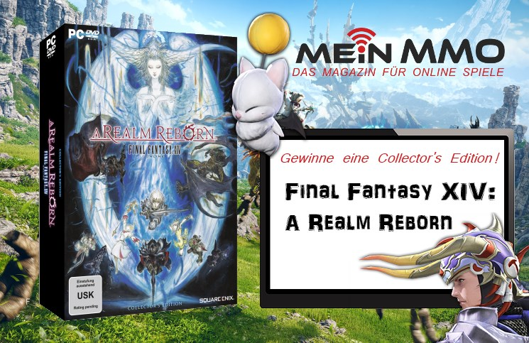 Final Fantasy XIV: Mein MMO verlost Collector's Edition