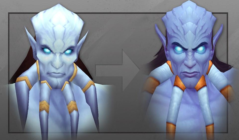 World of Warcraft macht blau: Draenei sehen eh top aus