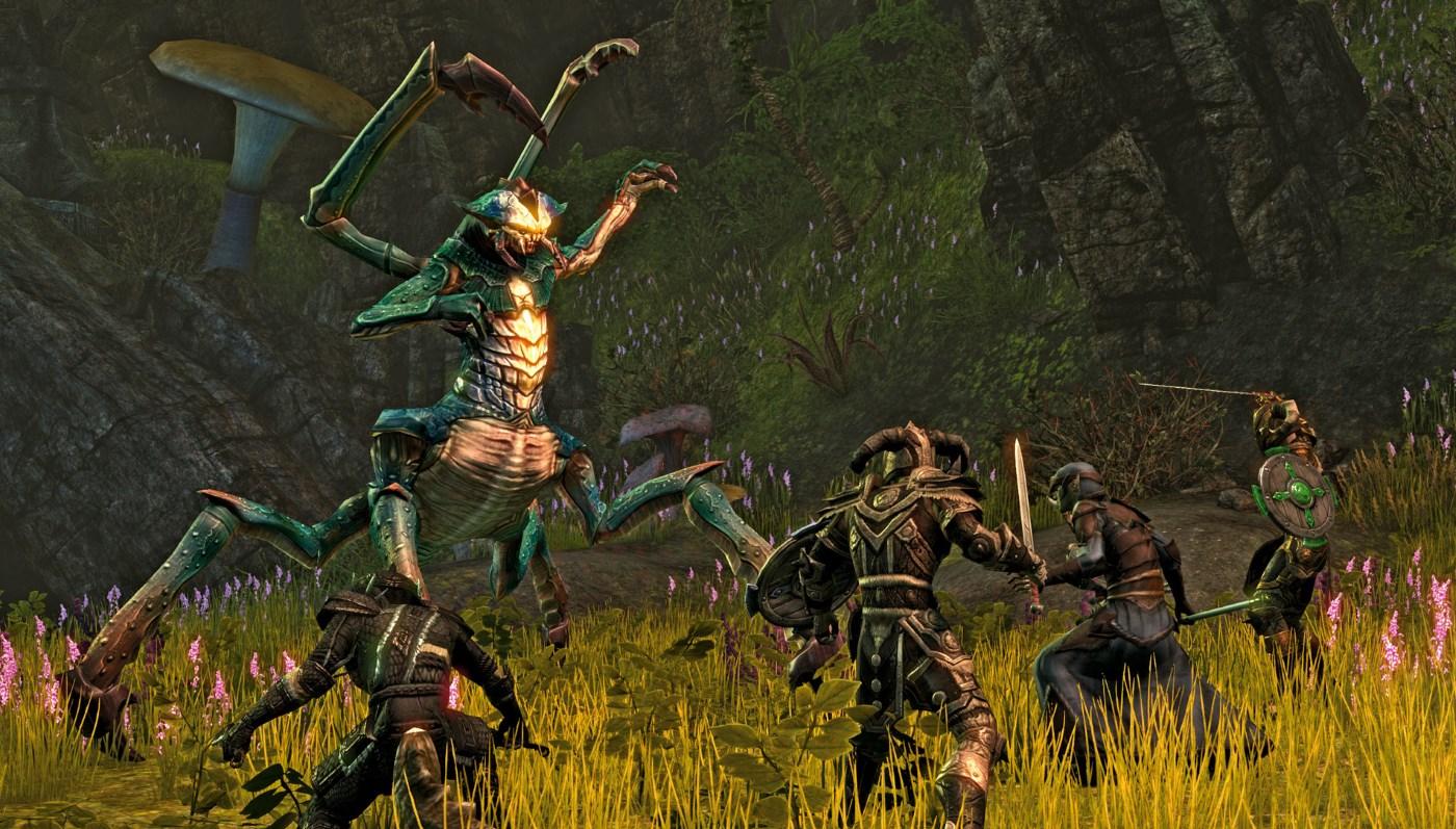 The Elder Scrolls Online: TESO gibt's jetzt auf STEAM