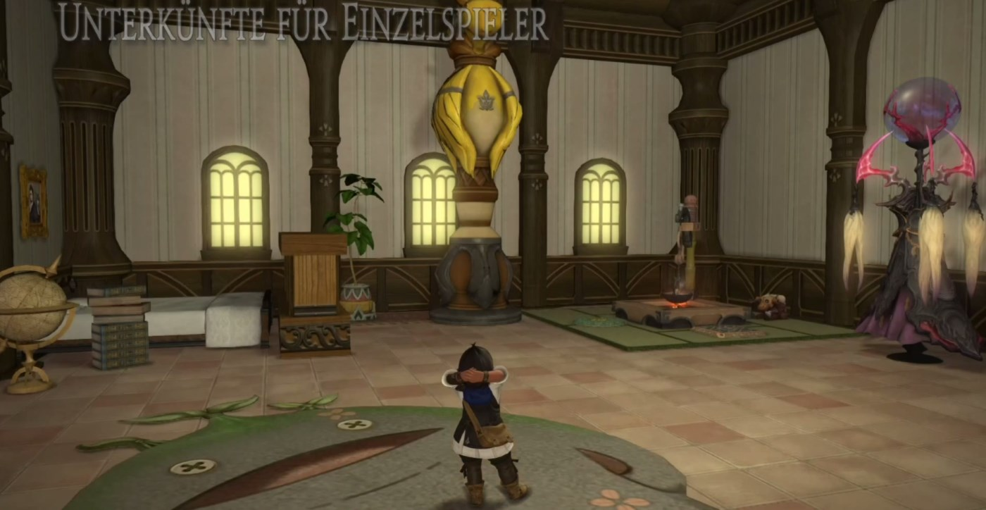 Final Fantasy XIV: Nächster Patch bringt Privatgemächer