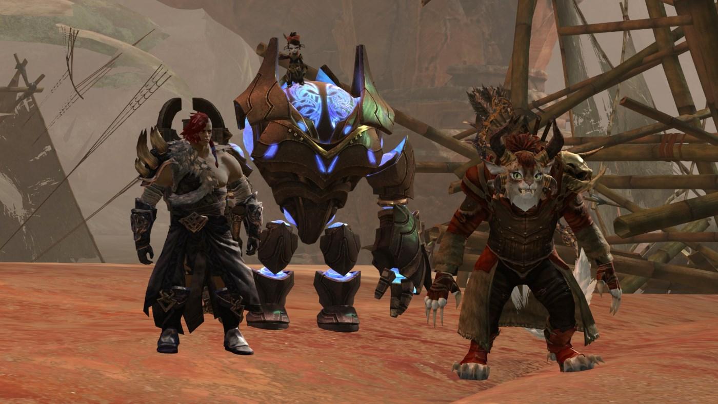 Guild Wars 2: Devs von GW2 mischen sich unter den Zerg