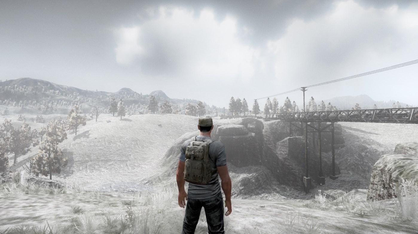 H1Z1: Schnee, der auf Zombies fällt – Wetter wird wichtig