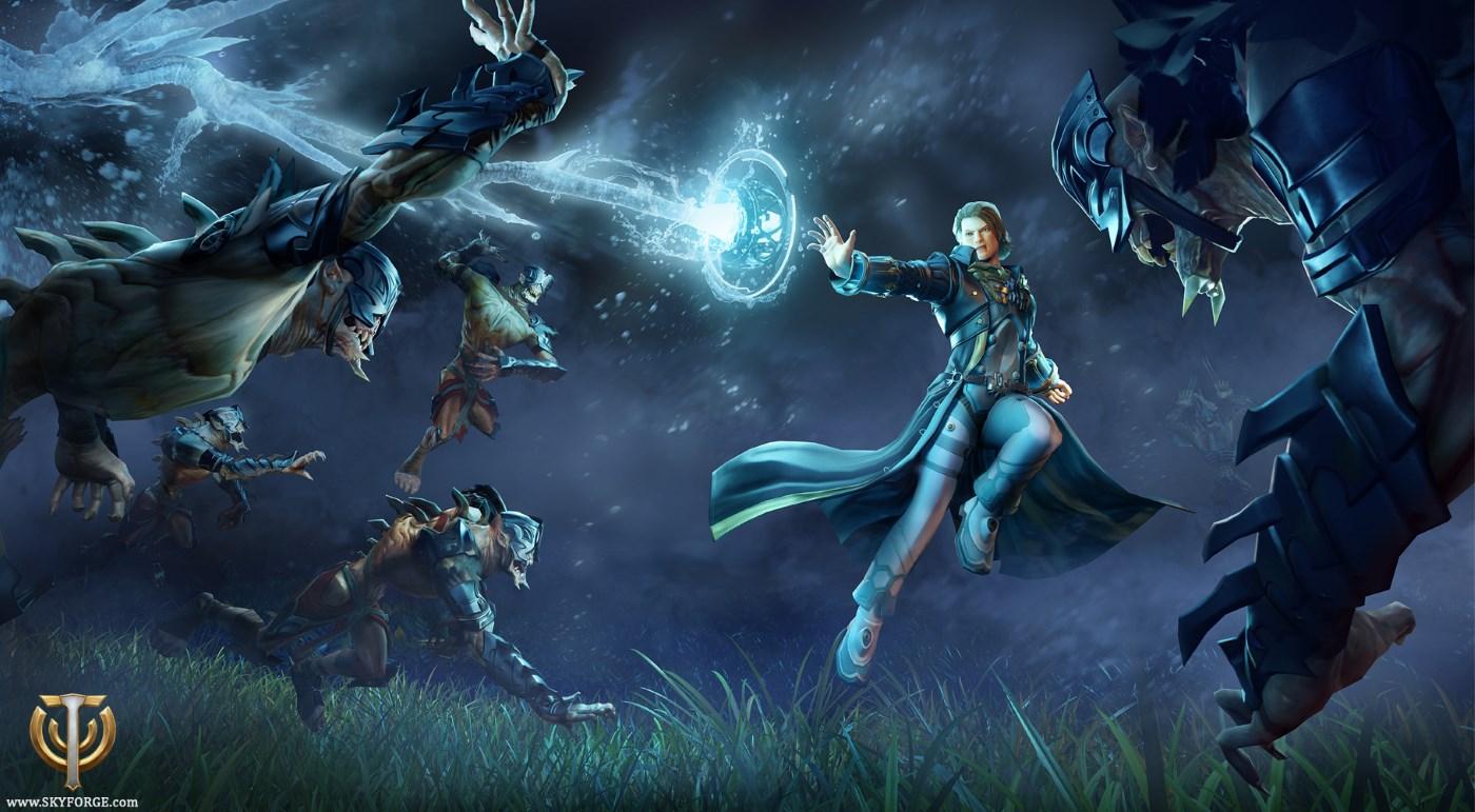Skyforge PS4: Spielt Gott, um die Wartezeit auf Destiny 2 zu verkürzen