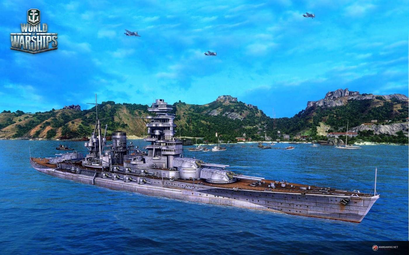 World of Warships: Jungfernfahrt des World-of-Tanks-Ablegers auf der Gamescom