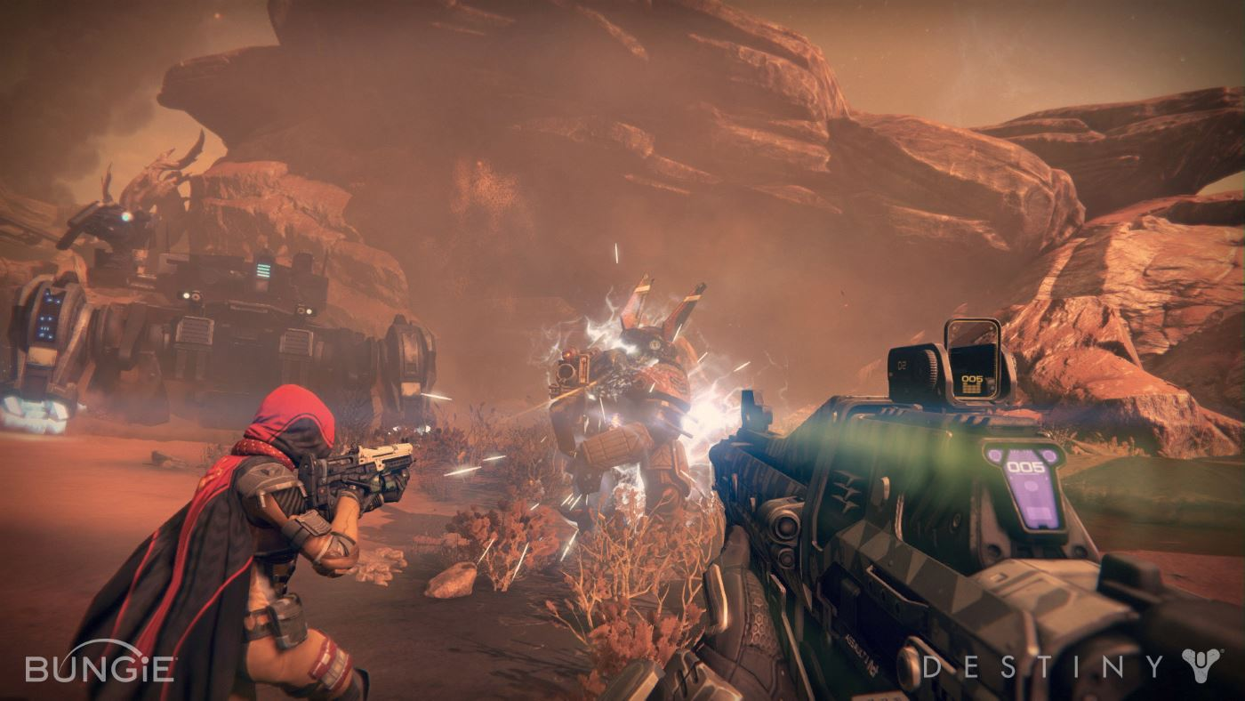 Destiny mit neuem Gameplay-Trailer: Auf zum Mars