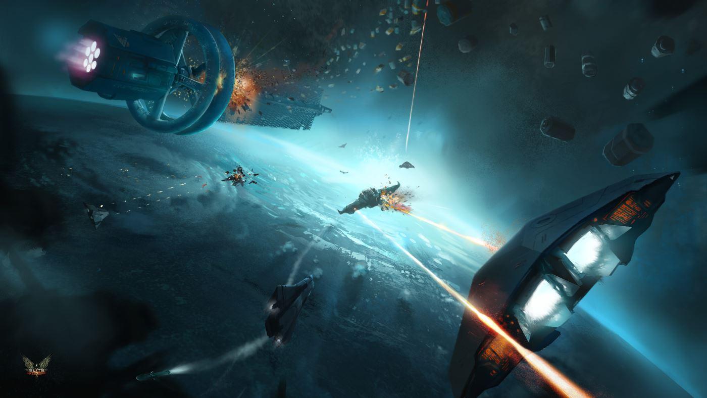Elite Dangerous: Wenig Schein, viel Sein – ein Blick in die Beta des Space-MMO