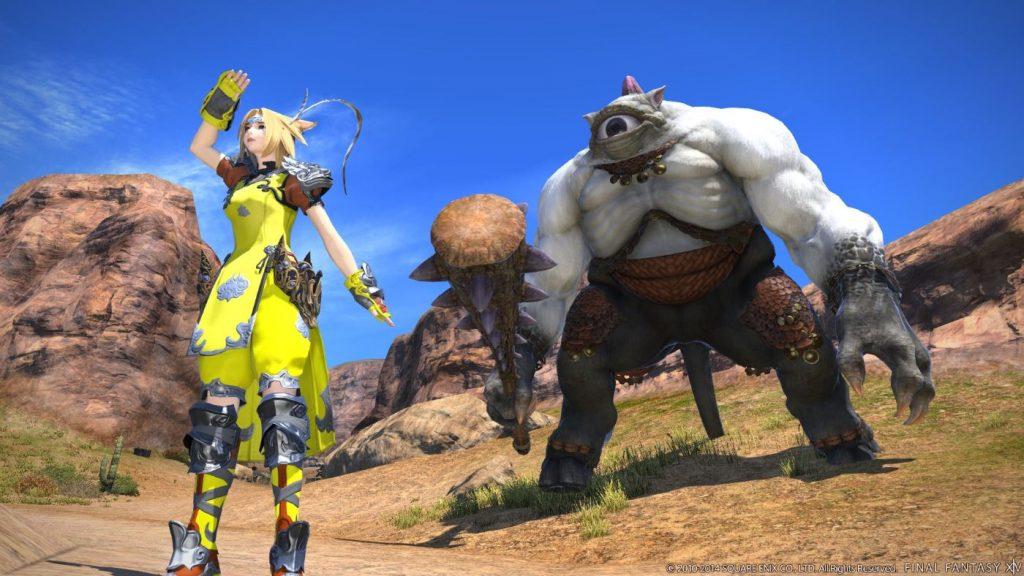 Final Fantasy XIV Jagd