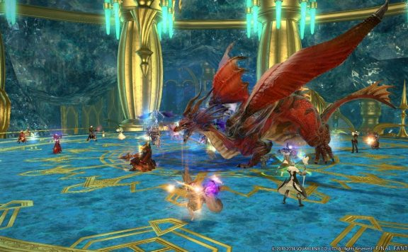 Final Fantasy XIV Kristallturm