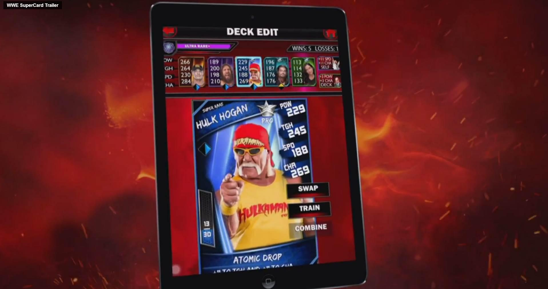 WWE Supercard: Wrestling springt auf Hearthstone-Zug