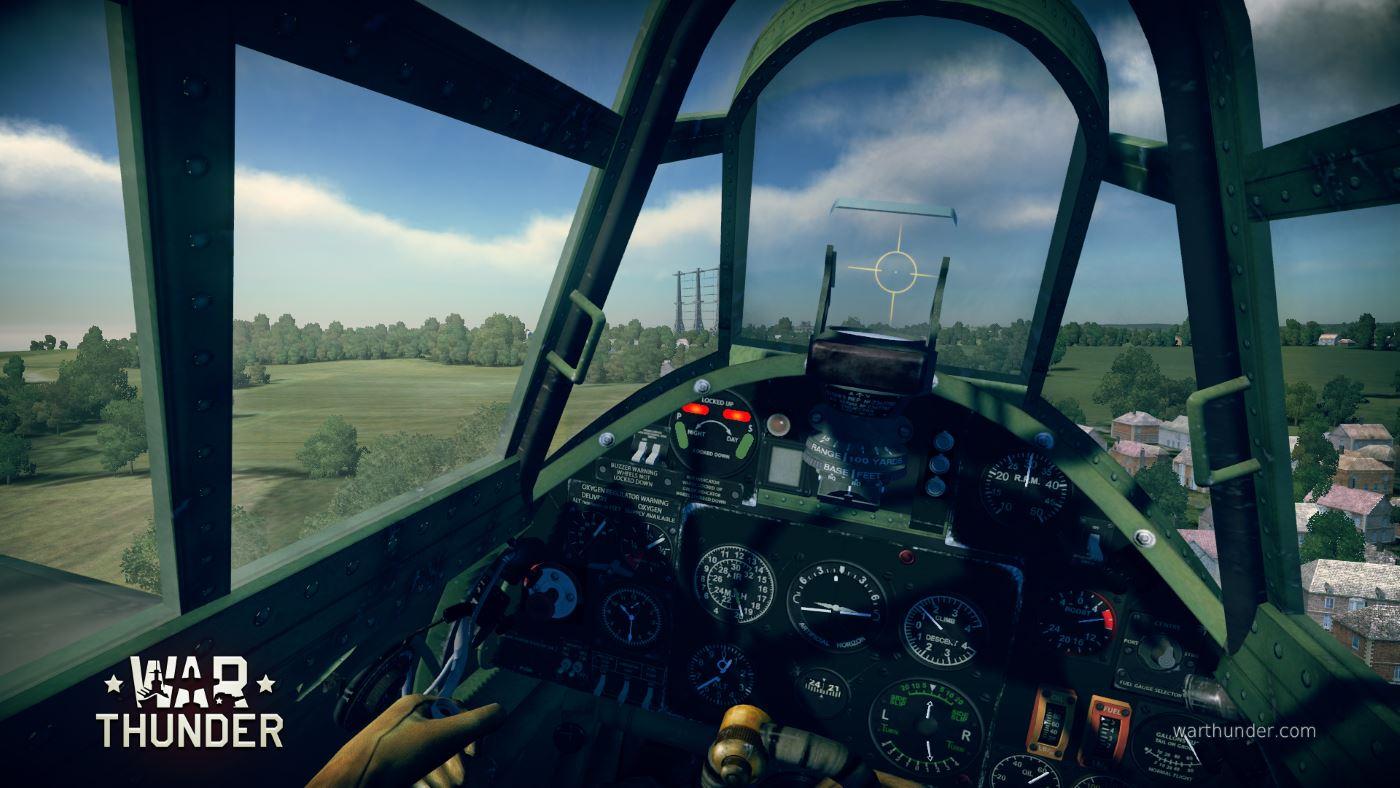 War Thunder möchte mit VR 360°-Blick aus dem Cockpit bieten