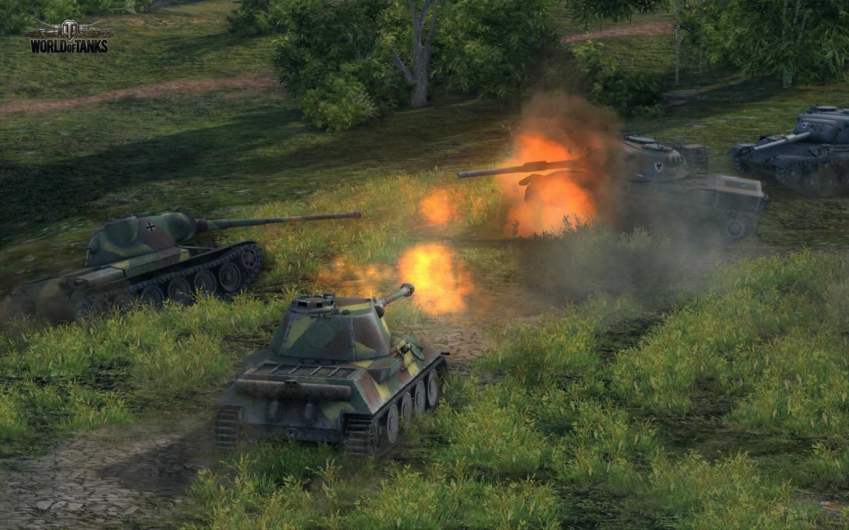 World of Tanks: Dank neuer Versionen 100 Millionen Spieler