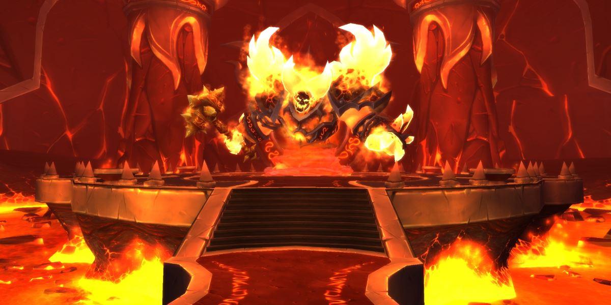 World of Warcraft feiert Retro-Geburtstagsparty mit Ragnaros