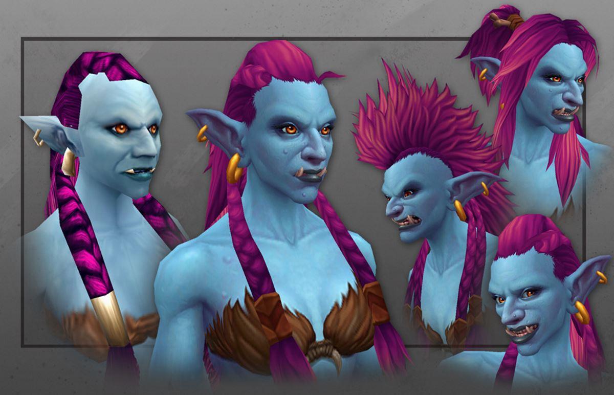 World of Warcraft trollt gut: Neue Troll-Modelle