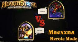 Hearthstone: Maexxna Heroic
