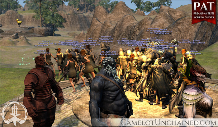 Camelot Unchained: Erfolgreiches Pre-Alpha-Event mit 500 Spielern gleichzeitig
