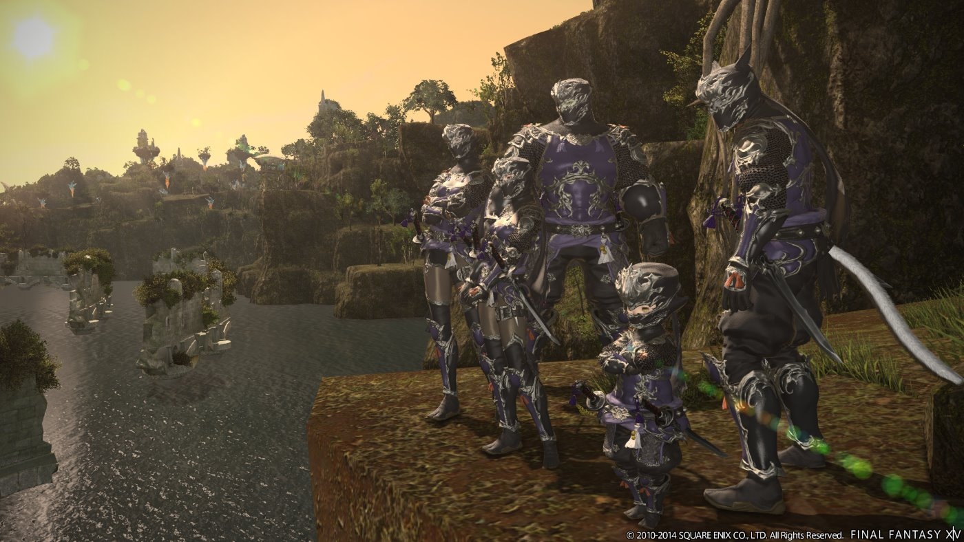 Final Fantasy XIV stellt Schurken und Ninjas vor