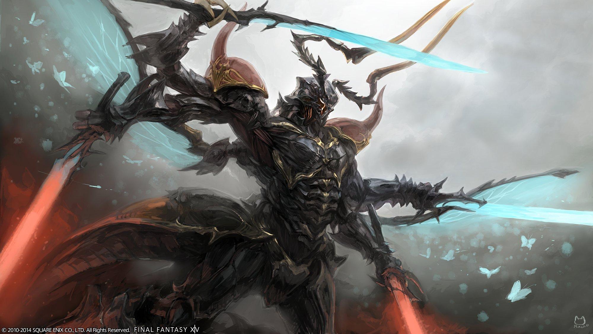 """Final Fantasy XIV: Der Benchmark für den PC ist da, erlaubt neue """"Au Ra""""-Helden"""