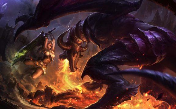 League of Legends Rangliste