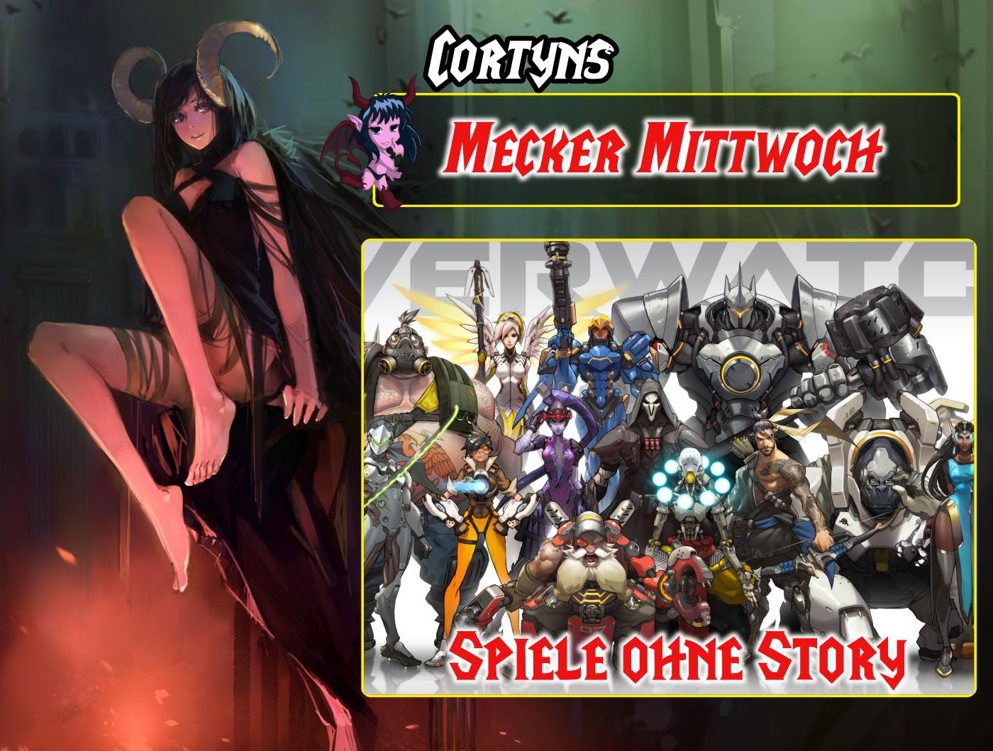 Mecker Mittwoch: Spiele ohne Story (Overwatch)