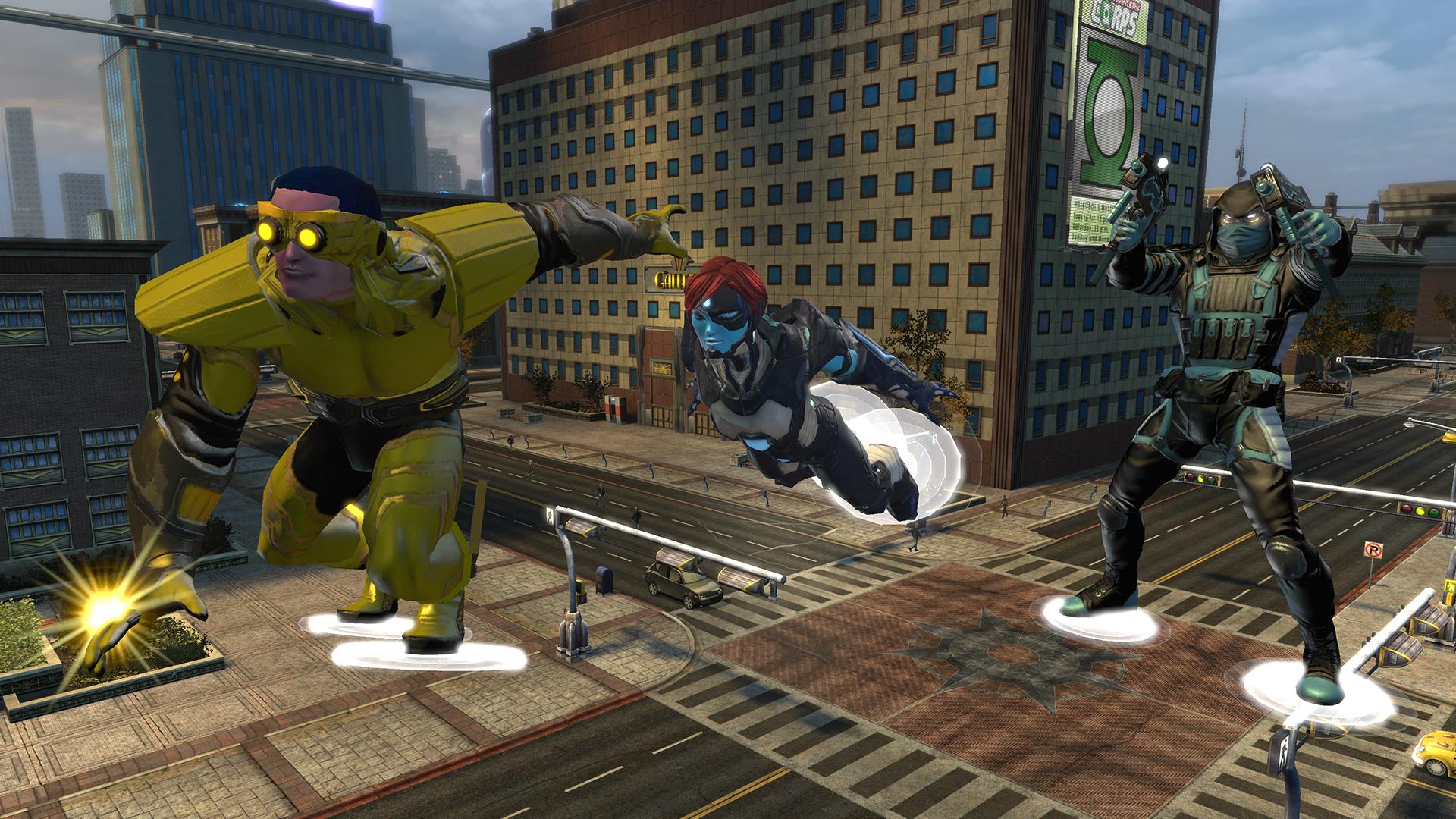DC Universe Online: Fliegen war gestern, Skimming ist heute