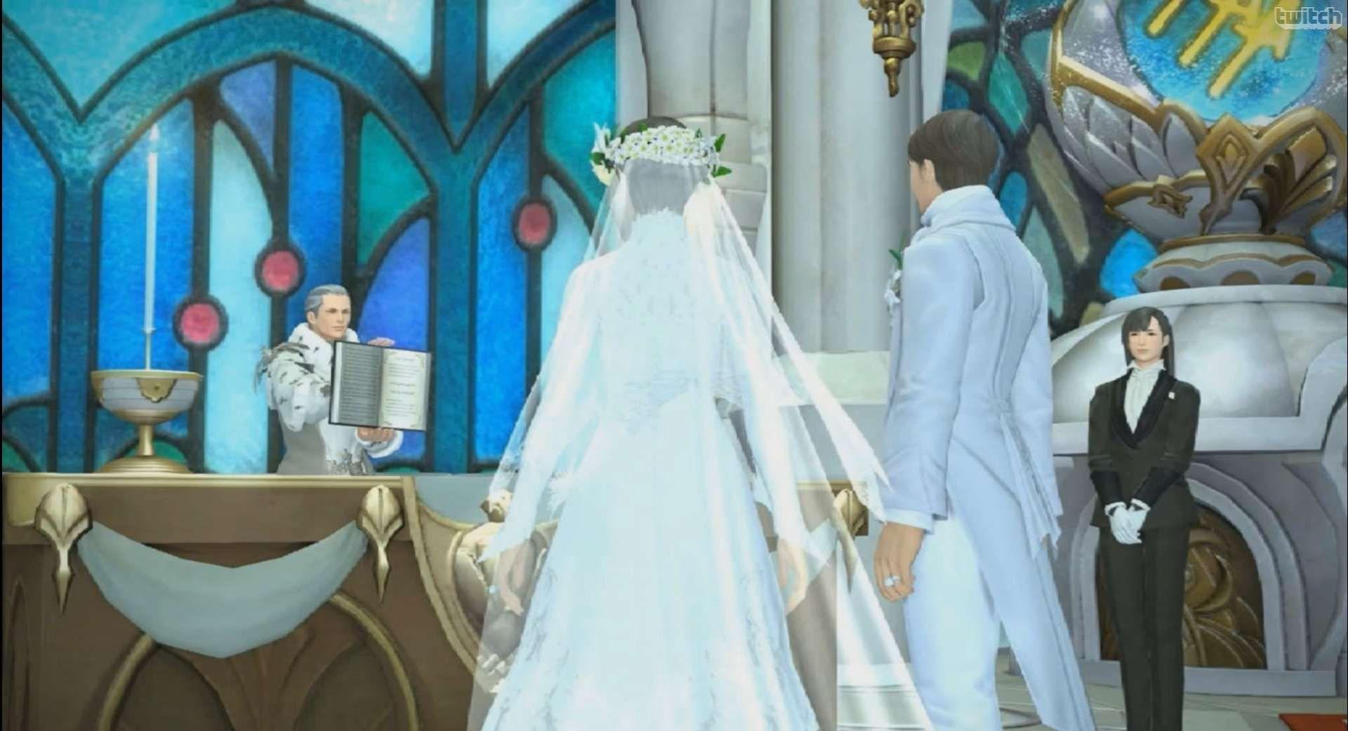 Final Fantasy XIV: Hochzeiten kommen am 9. Dezember in Gold, Platin, Free2Play
