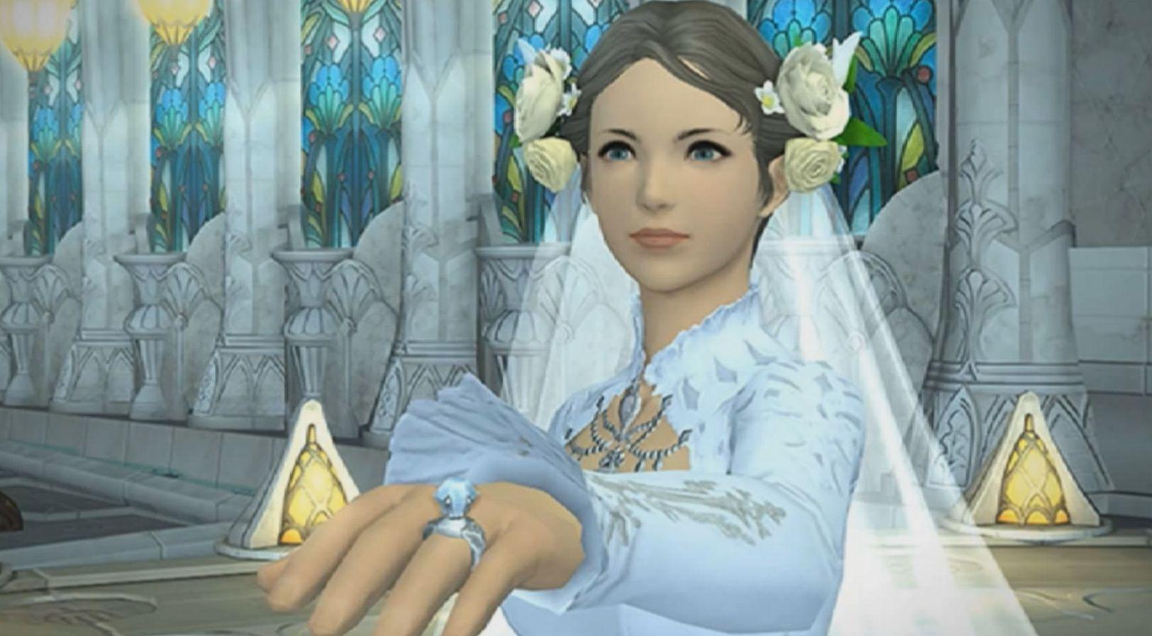 Final Fantasy XIV: Braut wird am Traualtar verlassen – Bräutigam hatte Disconnect