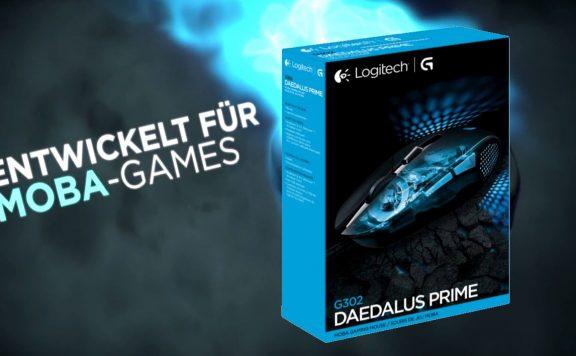 Logitech g302 MOBA Gaming Maus Daedalus Prime
