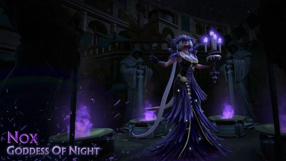 SMITE-Gewinnspiel: Schnappt Euch Nox, die Herrin der Nacht!