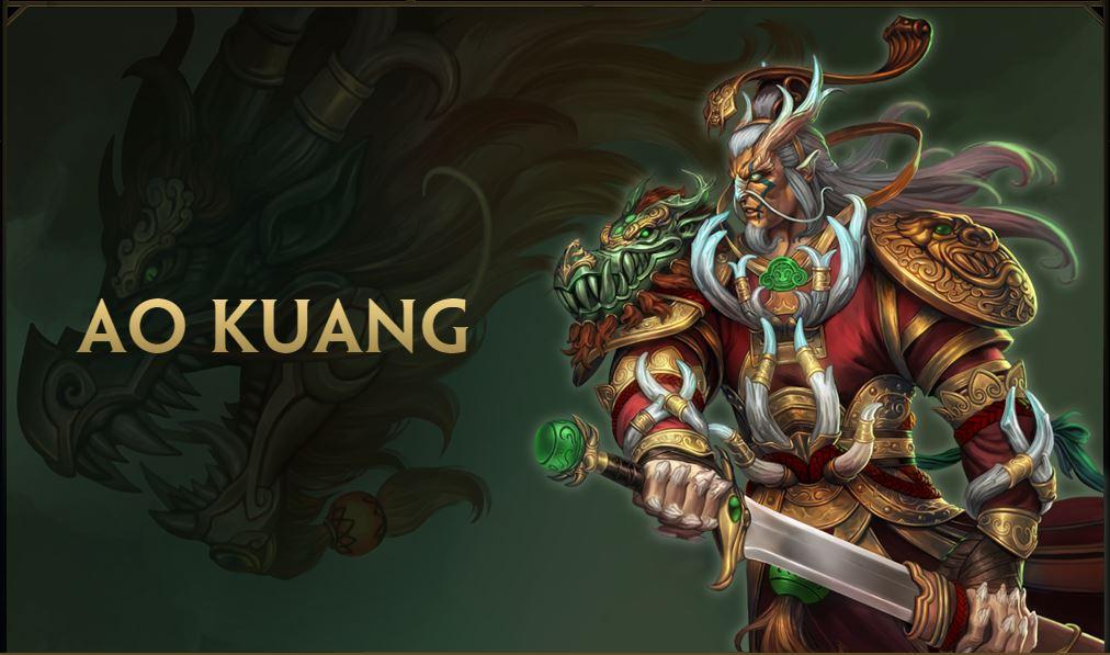 SMITE: Neuer Gott Ao-Kuang und ein kleines Rotkäppchen