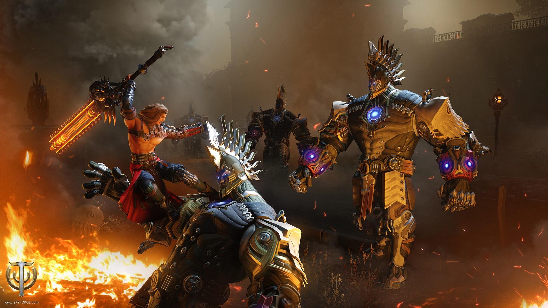 Skyforge auf PS4: Test – So spielt sich das neue Free2Play-MMORPG