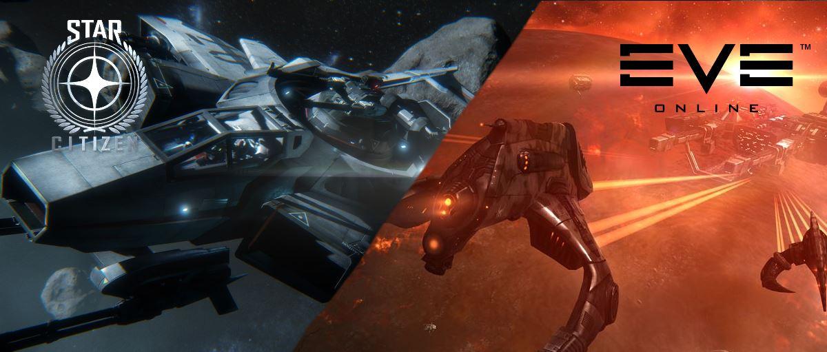 Star Citizen vs. EVE Online: Vergleich der Weltraumsimulationen